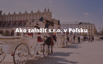 Založenie s.r.o v Poľsku