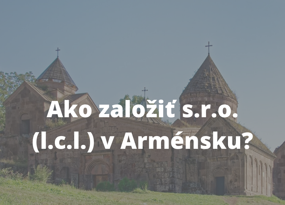 ako zalozit sro v armensku