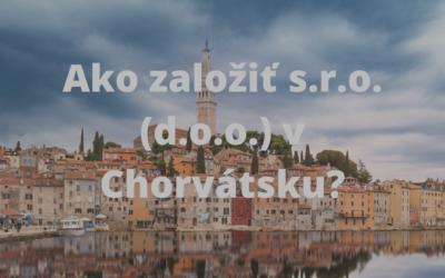 Založenie s.r.o. v Chorvátsku