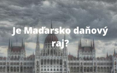 Je Maďarsko daňovým rajom?