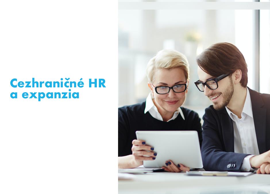 Zahraničné podnikanie znamená aj zahraničné HR