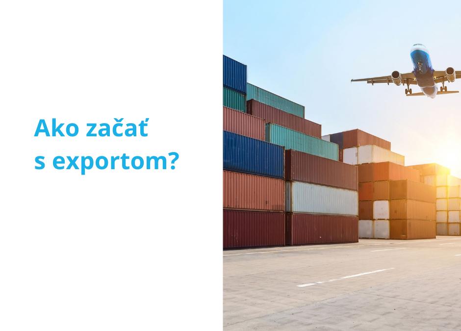Export – ako začať?